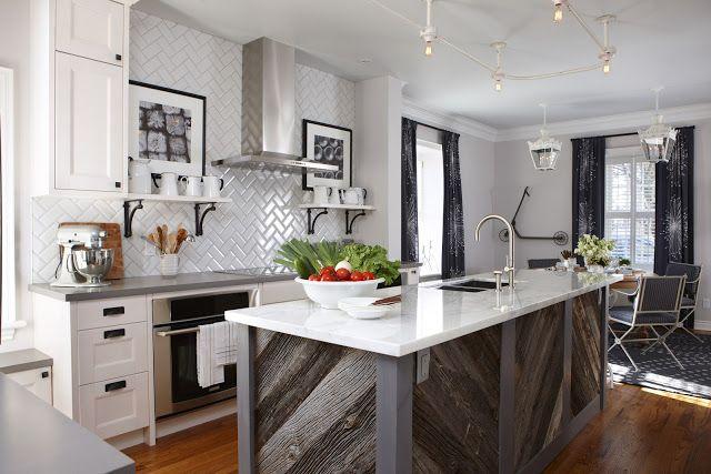Sarah Richardson Kitchen Love The Barn Board Island Love My Home