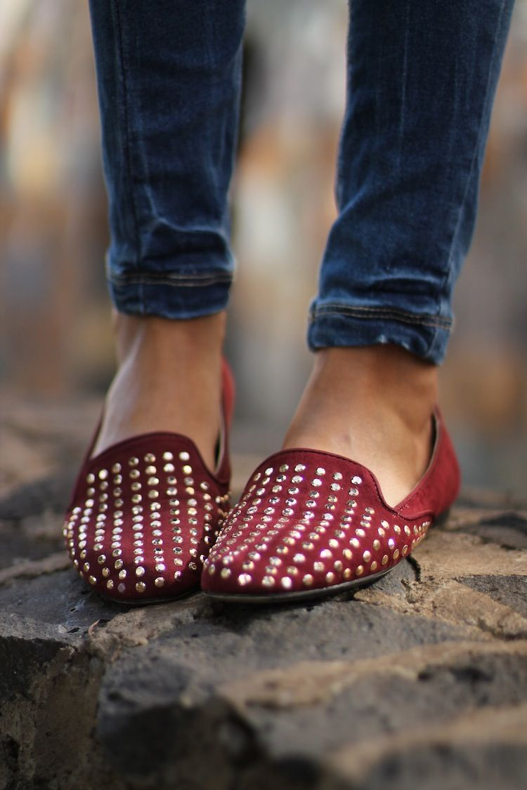 #fashion #shoes ASM Magazine » Fashion Blog » Burgundy Slipers