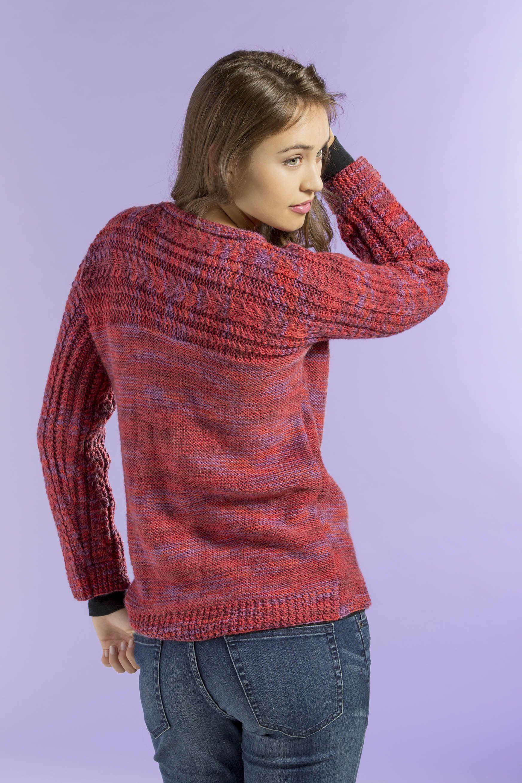 Free knitting pattern siren sweater in infusion handpaints free knitting pattern siren sweater in infusion handpaints bankloansurffo Image collections