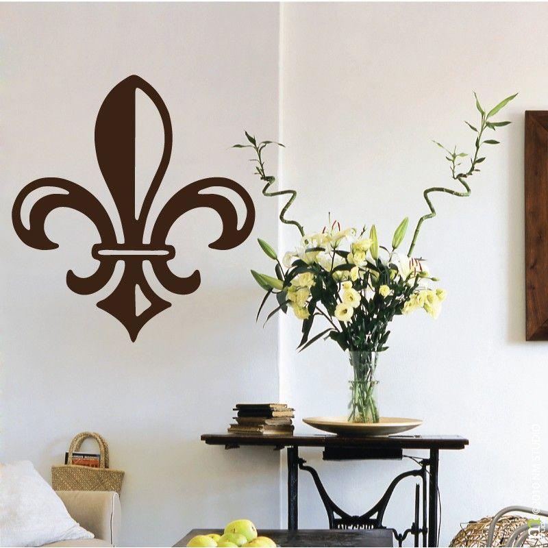 St Peter Solid Fleur De Lis Wall Decal Pinterest Wall Decals