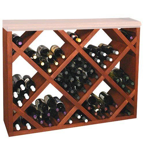 Have to have it. Designer Series 132-Bottle Half Height Diamond Bin Wine Rack $599.99