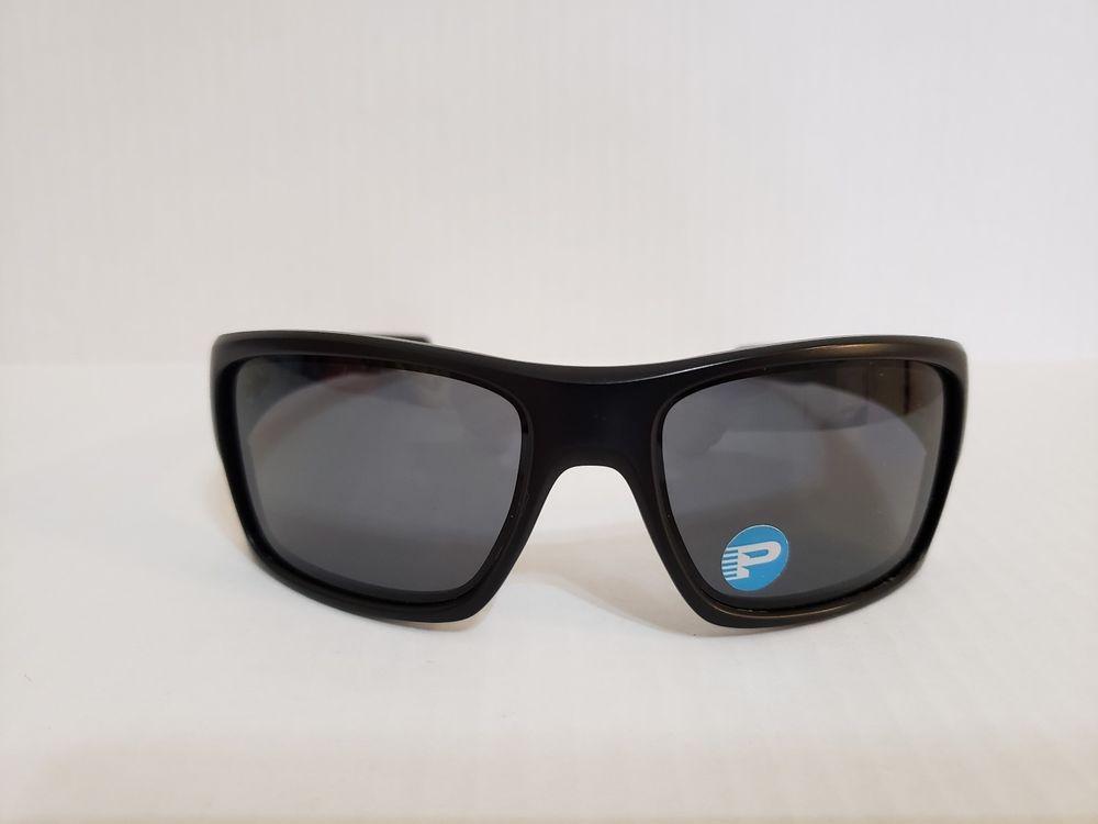 99ac5345a025 Oakley Turbine Sunglasses 009263-07 Matte Black Frame Grey Polarized Lens  #fashion #clothing #shoes #accessories #mensaccessories ...