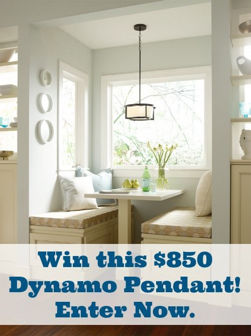 Enter to win this pendant from Progress Lighting. ($850 value) Ends 7/27/2014