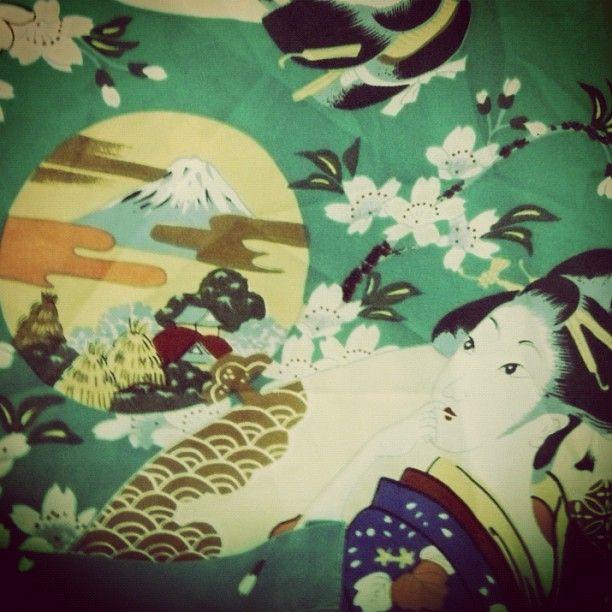 Kimono verde Talla S 12 €