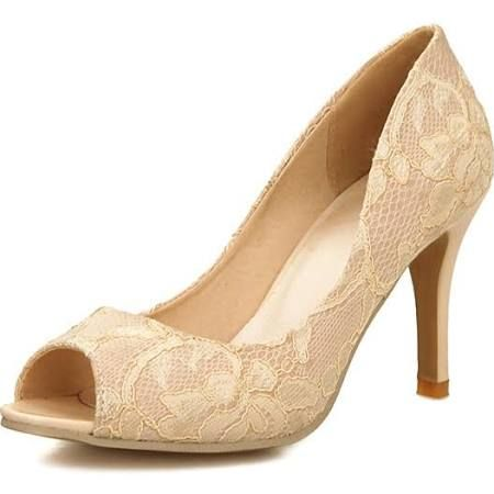 ferragamo mimi pump Women's Shoes Lace Stiletto Heel Peep Toe Pumps Dress  More Colors available #