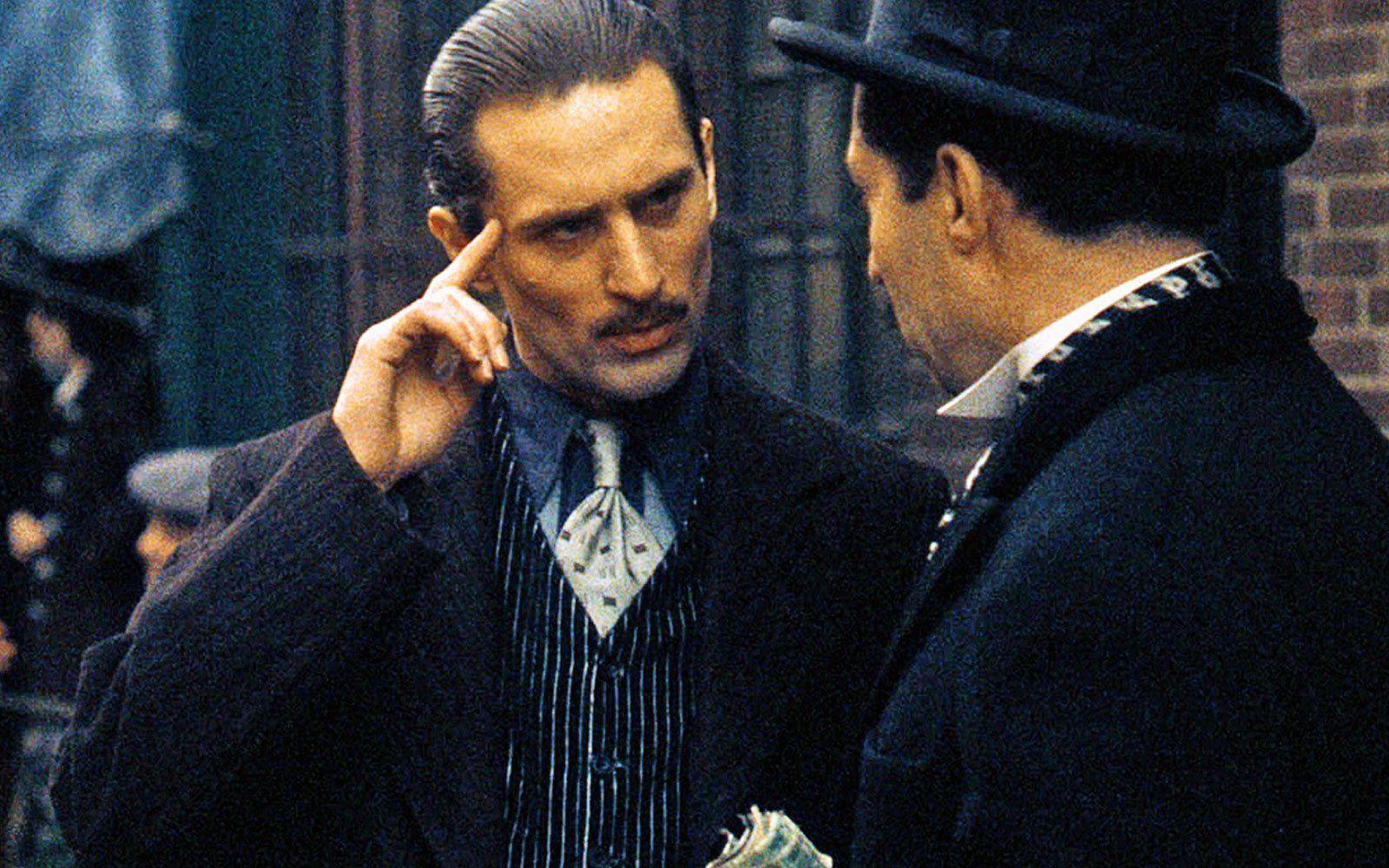 Robert De Niro | Godfather movie, Iconic movies, The godfather