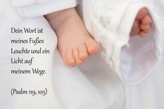 Psalm Taufe