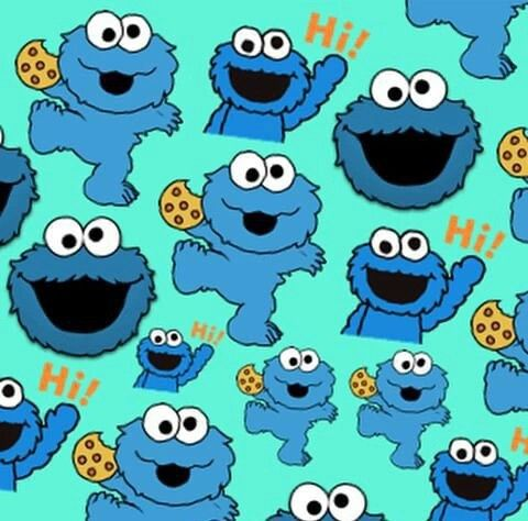 Come Galletas Monster Cookies Cookie Monster Wallpaper Cute Panda Wallpaper
