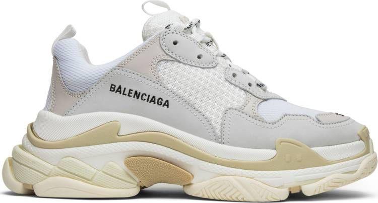 White balenciaga sneakers, Sneakers