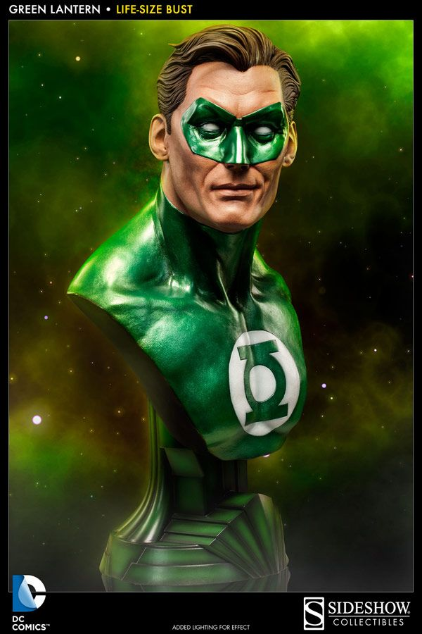 Limited Edition Green Lantern Life-Size Bust