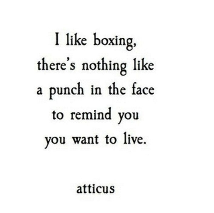 boxing discovered by No idea, yet on We Heart It