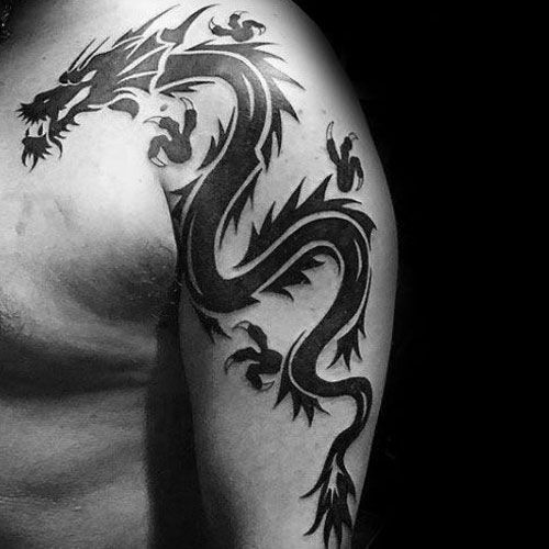 Photo of Tribal Dragon Tattoo für Männer #Tattoo Formen – # – # – Tribal Dragon Tattoo für …