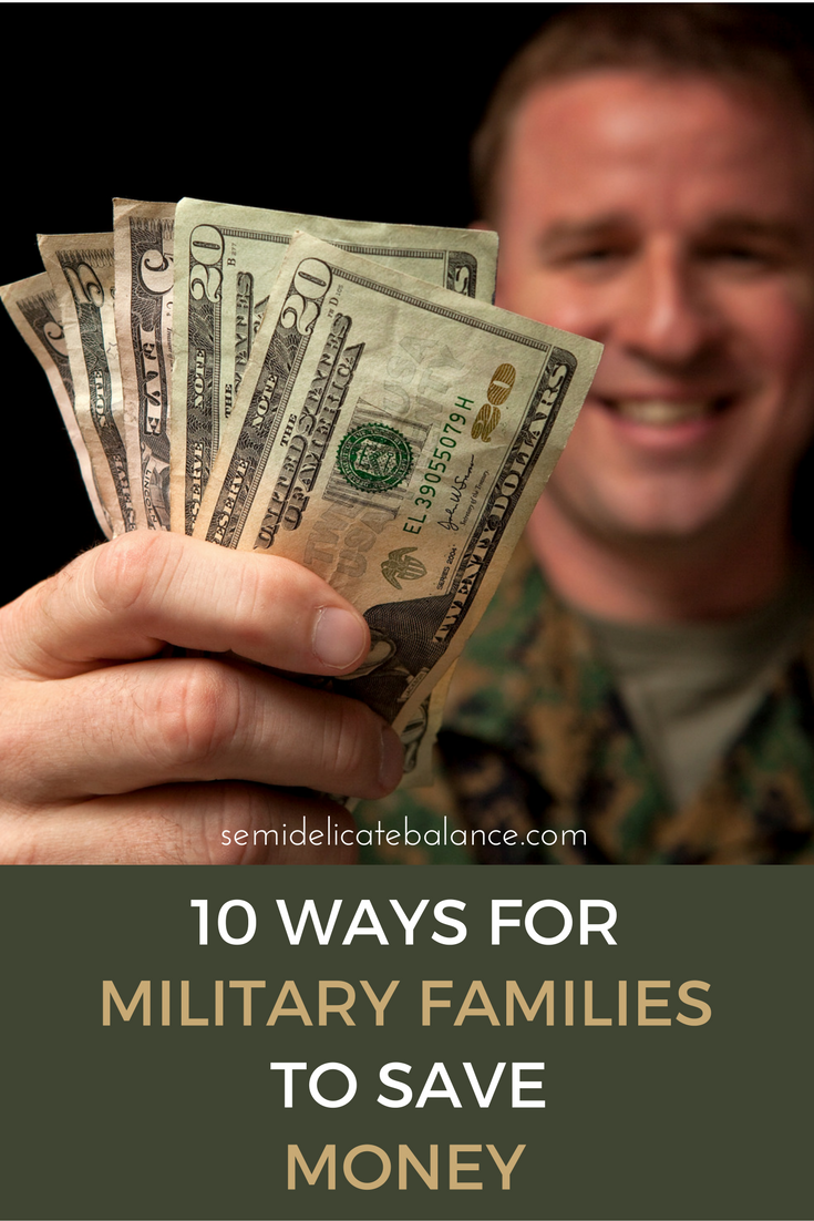 10 Ways For Military Families To Save Money