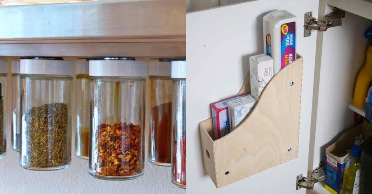 Stauraumideen Fur Ihre Kuche Kuchen Ideen Stauraum Kuchenschranke Und Regale Speicherideen