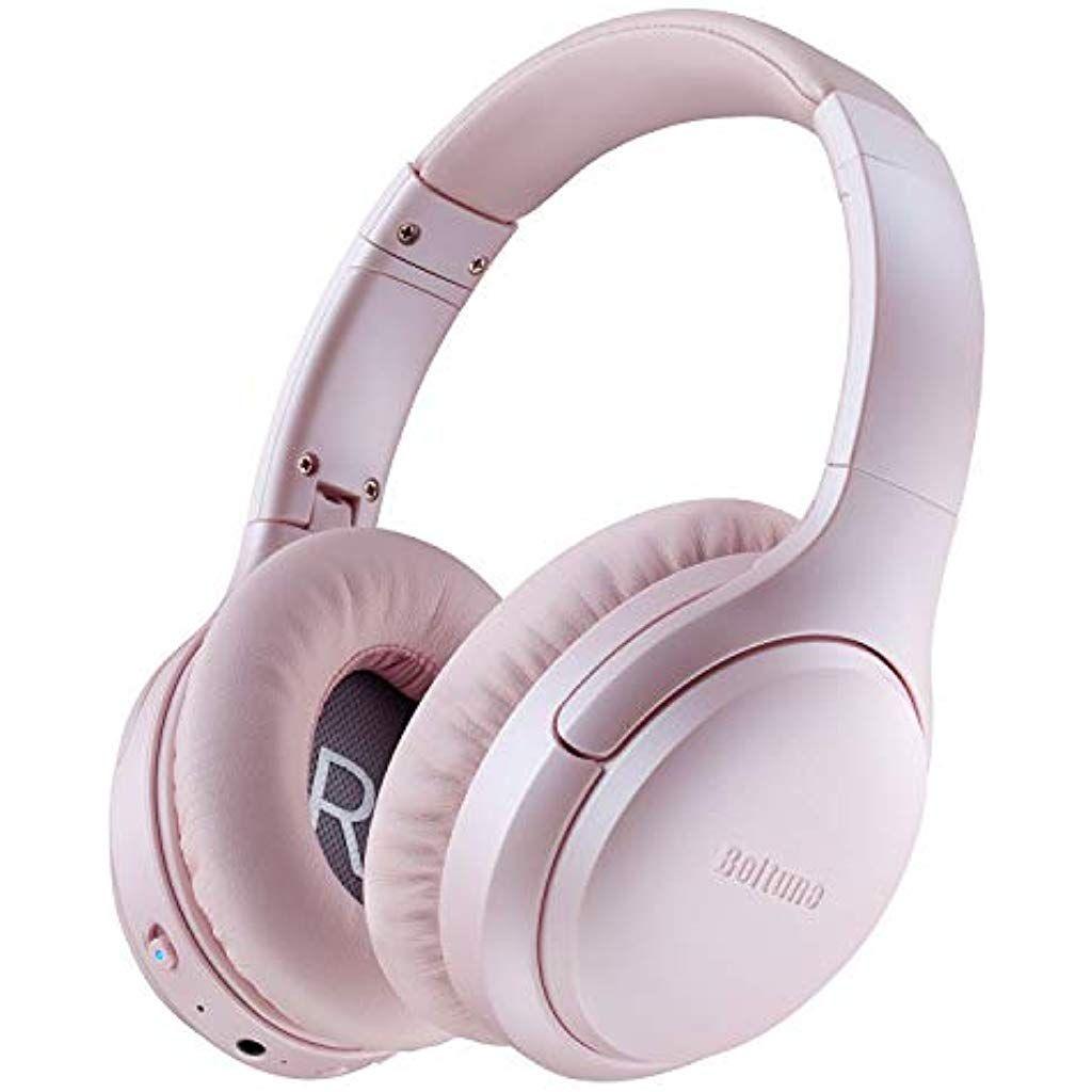 Active Noise Cancelling Kopfhorer Boltune Kabellos Bluetooth 5 0 Over Ear Ohrhorer Mit 30 Std Spielzeit Wireless Anc H Noise Cancelling Kopfhorer Hifi Mikrofon