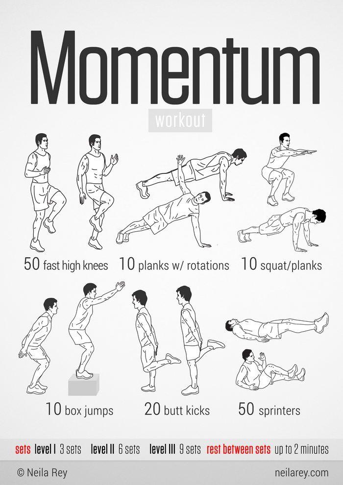 100 No Equipment Workouts Imgur No Equipment Workout Quick Workout Neila Rey