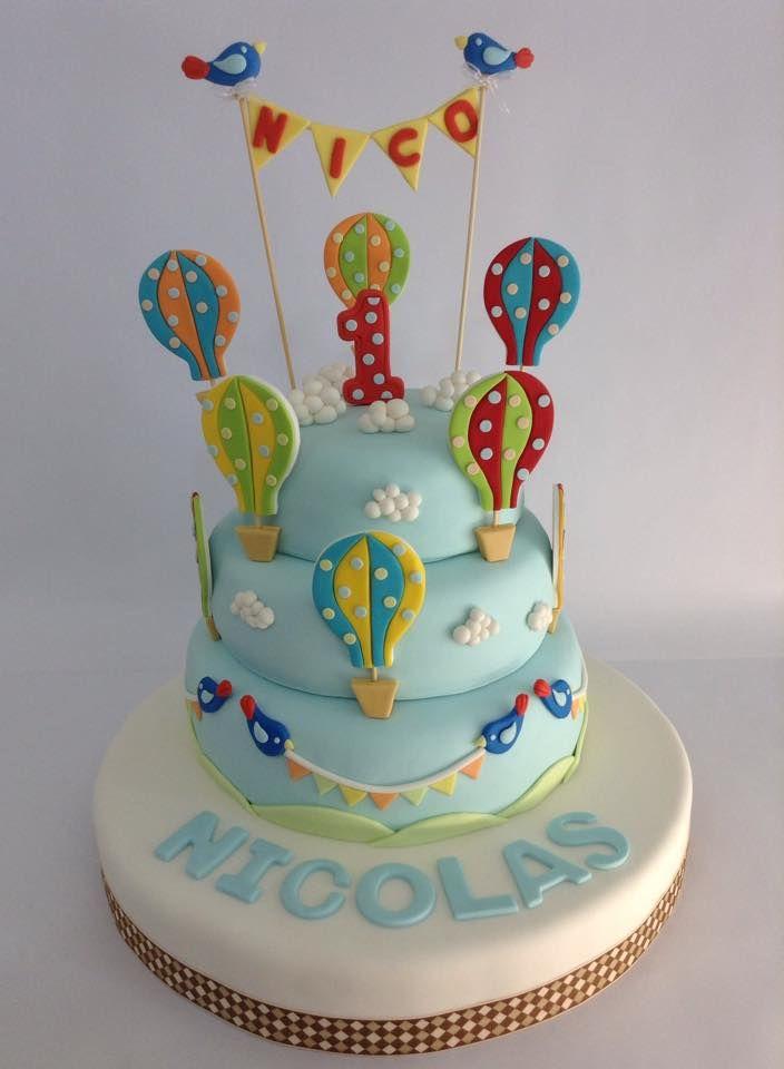 Torta Globos Aerostaticos - Marita's Bakery - Lima