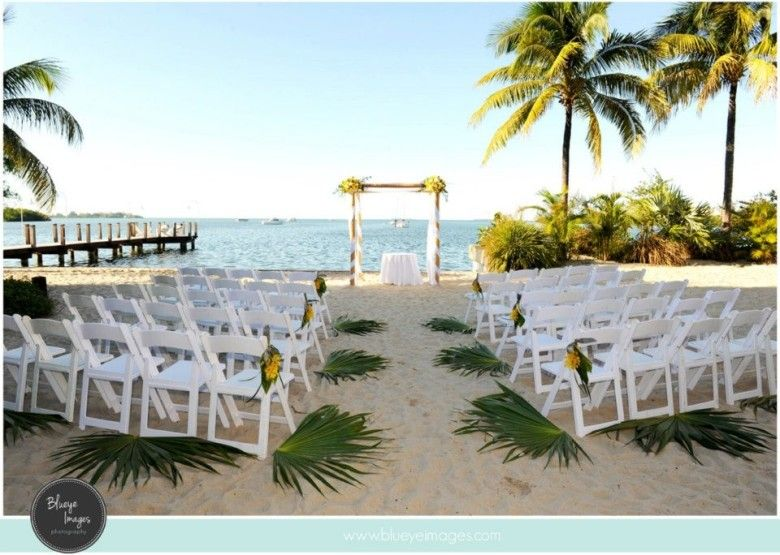 Elegant Beach Wedding At Key West Marriott Beachside Hotel Soiree