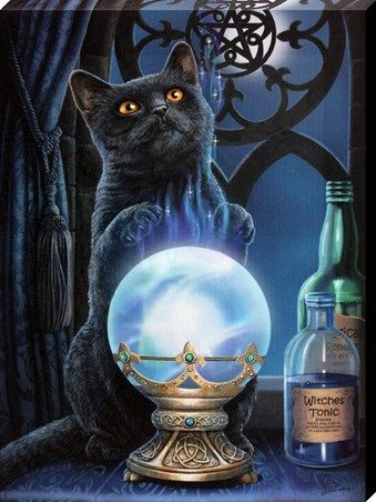 Fascinated by witchcraft and the mythical, fantasy artist ...