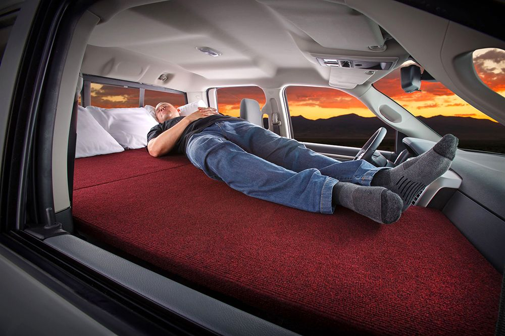 Sleep Comfortably In Your SUV Or Truck With This