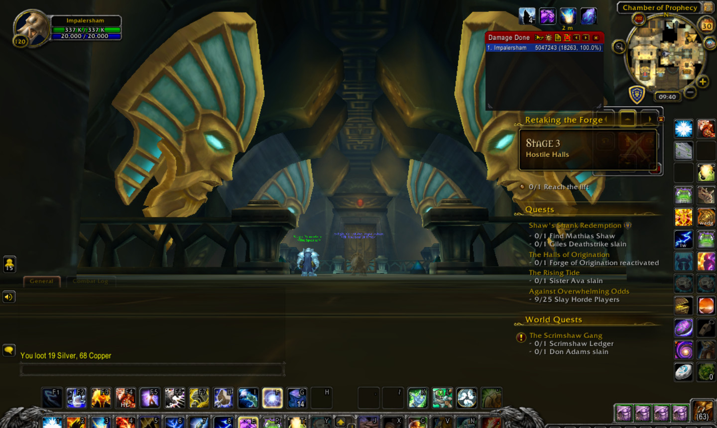 Black Empire Campaign First Quest To The Legendary Cloak Quest Wow Guide And Tips Empire World Of Warcraft Campaign