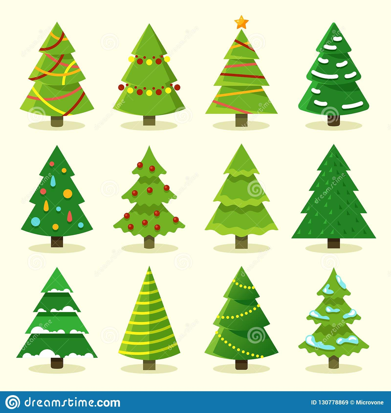 Pin By Dreamstime Stock Photos On Graphic Design Cartoon Christmas Tree Christmas Drawing Christmas Stickers