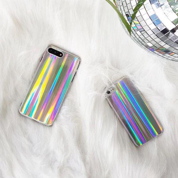 36d1ea66cf95e iPhone 8 Plus / iPhone 7 Plus Case, Psychedelic Rave Holographic ...