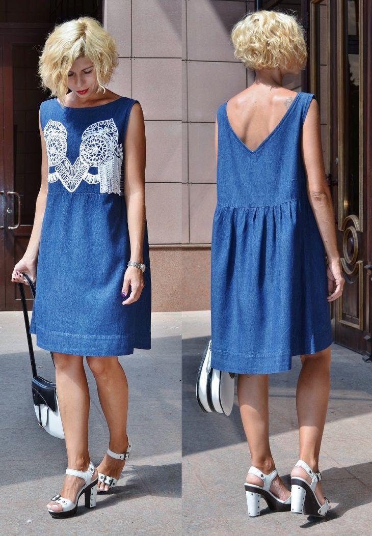 ff149dd29fd2e94 Забавные переделки старого в стильное новое Хочу поделиться с вами моей  переделкой платья. Такие я. Перейти