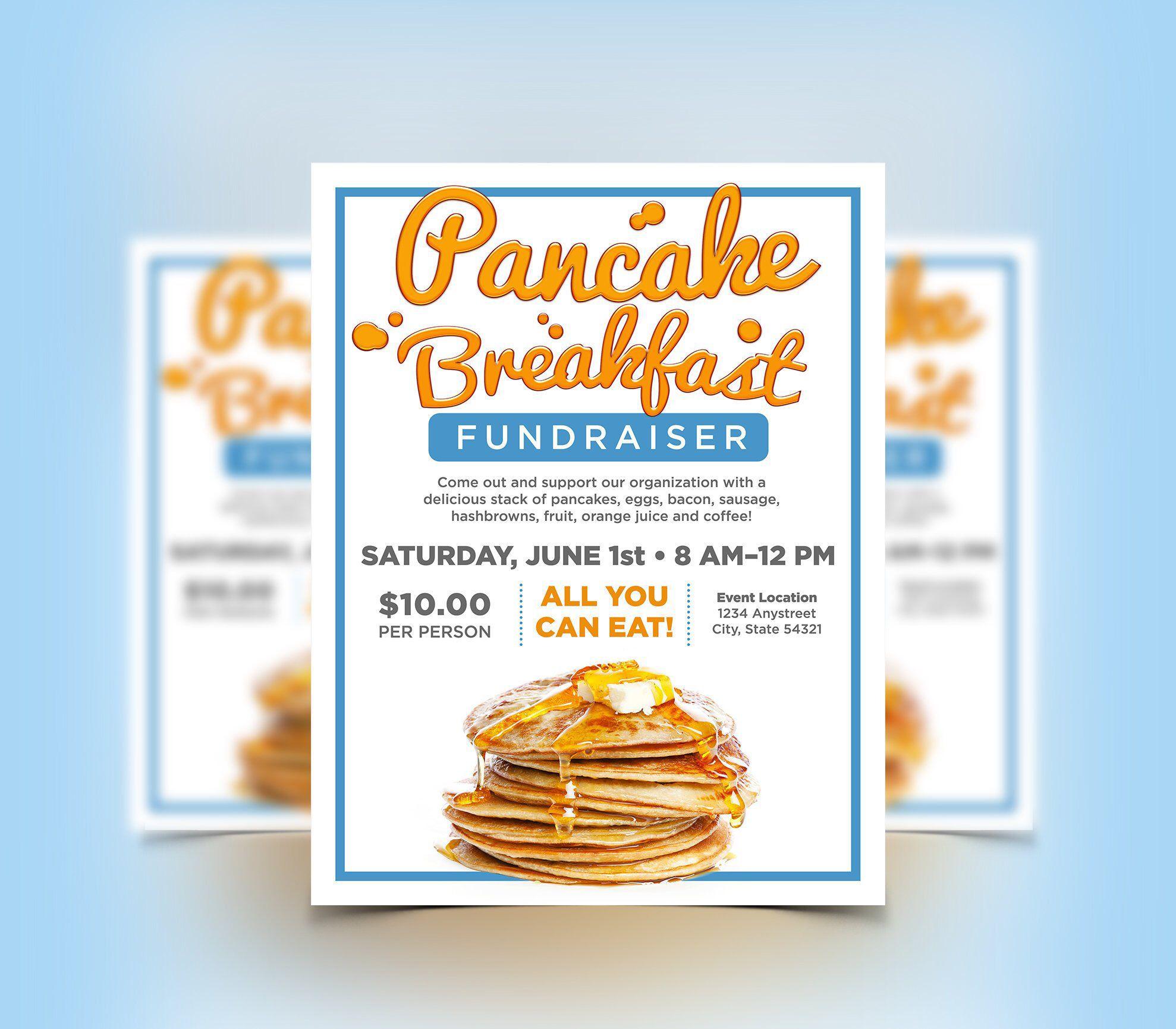 Breakfast Flyer Template Free
