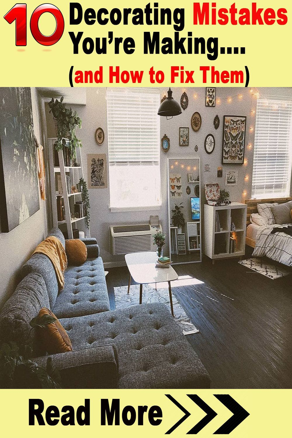 home decor themes #homedecor Most people put a lot of thought behind how theyll decorate their homes. Its a pretty exciting task with all the themes, color schemes and excuses to buy really cool accent pieces. But did you know that your dcor can actually cause your house to look cluttered