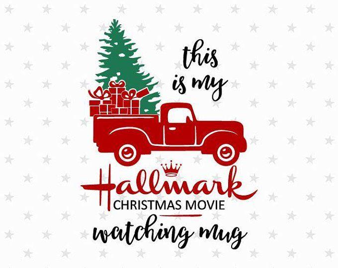 38c07962 Christmas Movie Watching Shirt svg Hallmark Channel svg | Etsy ...