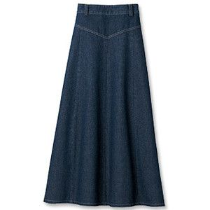 denim skirt weathered denim prairie skirt