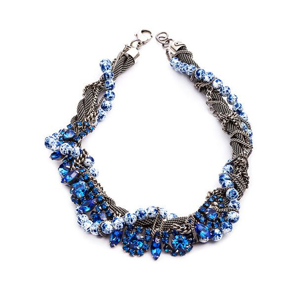 Dannijo Shiloh Necklace ($480) found on Polyvore