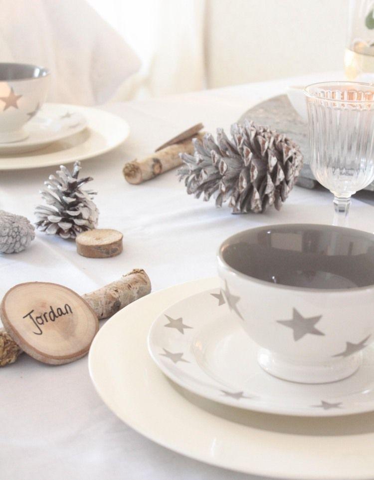 Déco Table De Noël à Faire Soi Même 32 Idées Fraîches