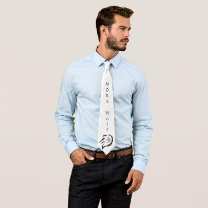 MORS Wolf Tie - accessories accessory gift idea stylish unique custom