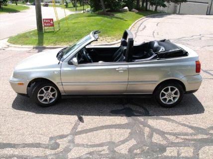 2001 Volkswagen CABRIO GLX LEATHER 6-CD CHANGER - Eden Prairie, MN 55344 | CarSoup.com