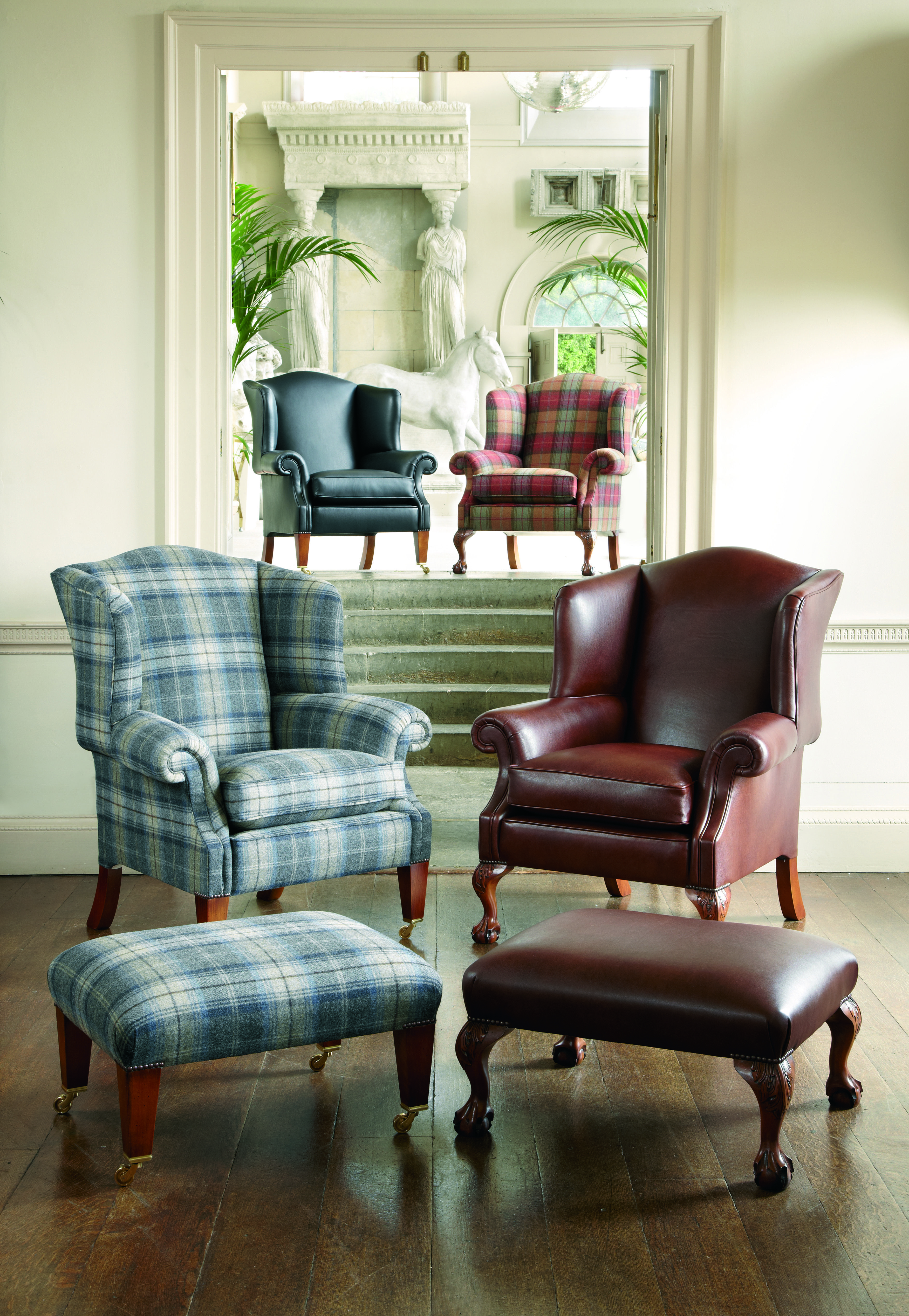The Wing Chairs - Shaftesbury - Devonshire - Somerset - Dartmouth ...