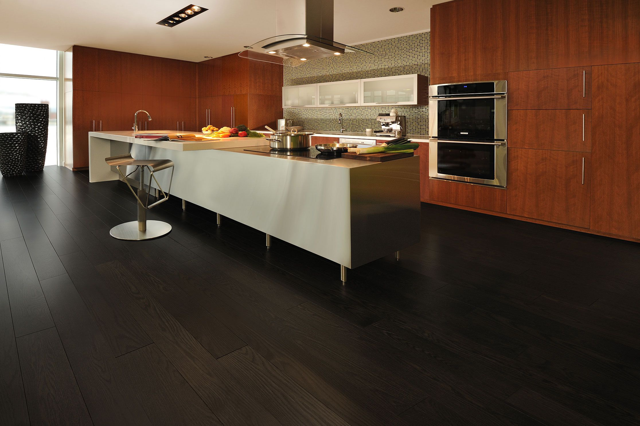 Red Oak Graphite   Inspiration Collection By Mirage Floors