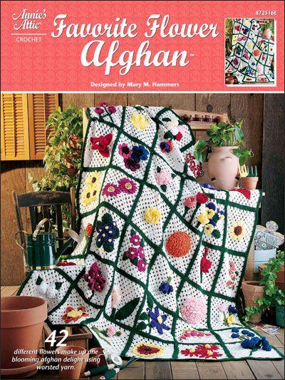 Crochet - e-Books - Afghans & Throws - Favorite Flower Afghan