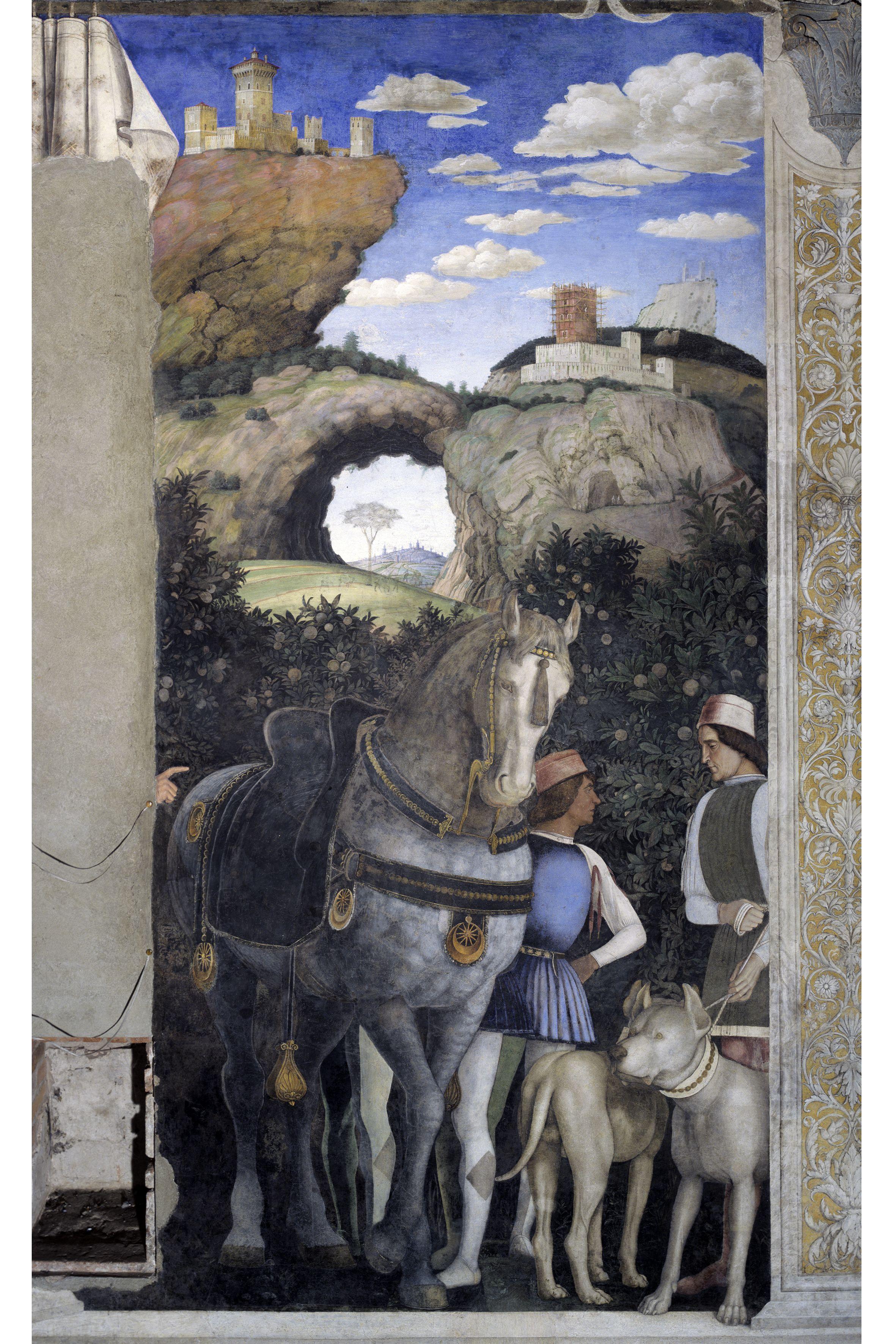 Palazzo ducale andrea mantegna camera degli sposi foto for Camera degli sposi immagini