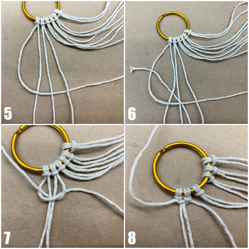 DIY Macrame Necklace Tutorial: Step by Step - Darice | Blog
