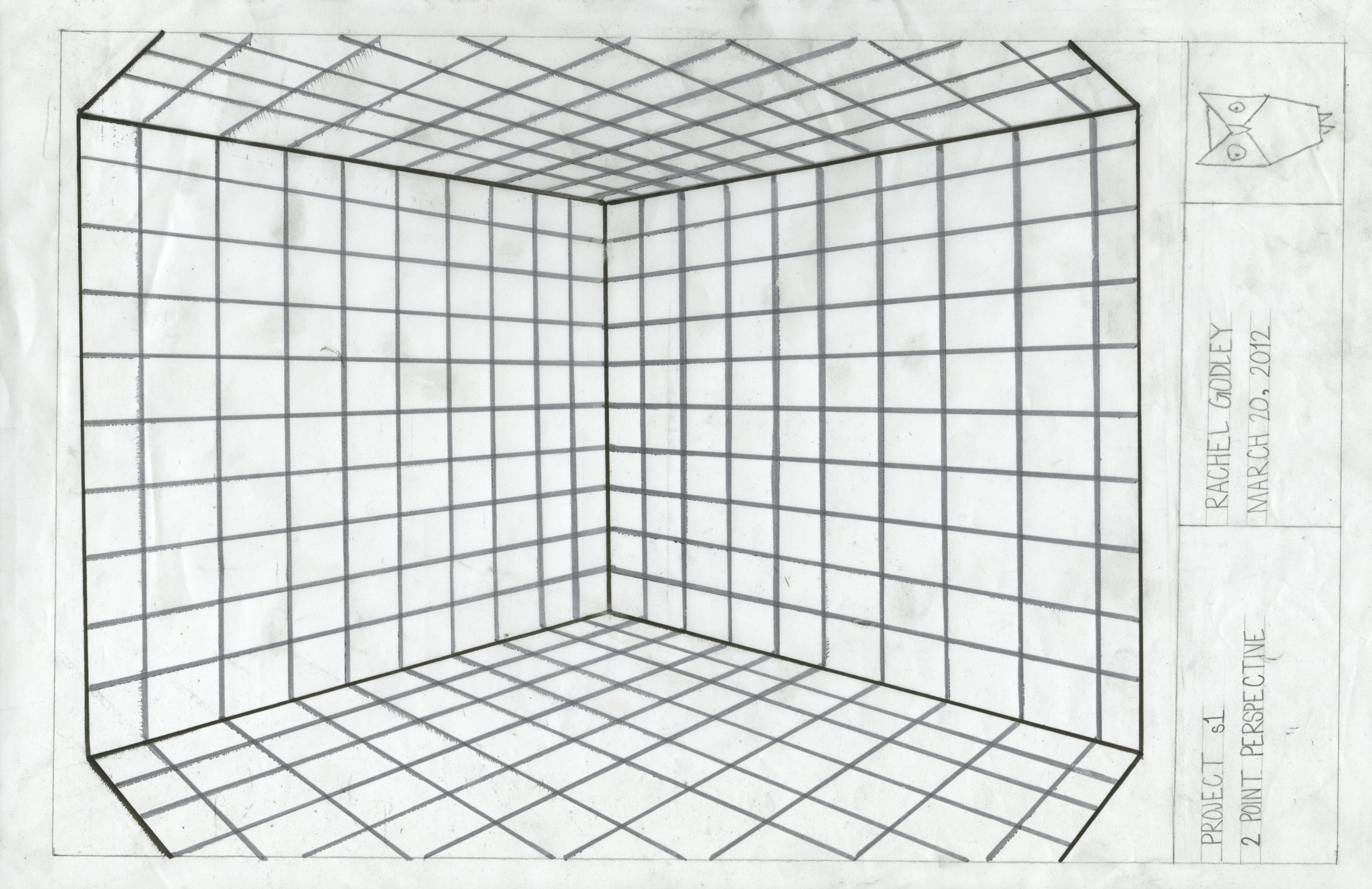 Two-Point Perspective Grid | Stuff | Pinterest | Perspective