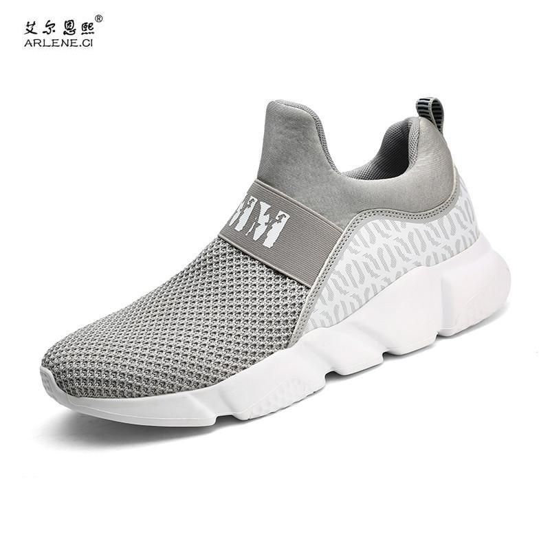 Men/'s Casuals Mid Top Sport Breathable Mesh Sneaker Running Sport Walking Trail