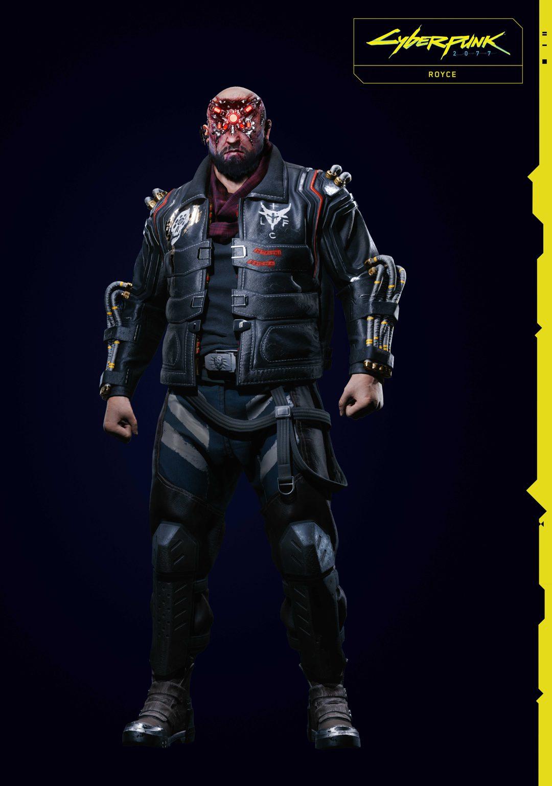 Cyberpunk 2077 Simon Randall Royce Kazuliski in 2020