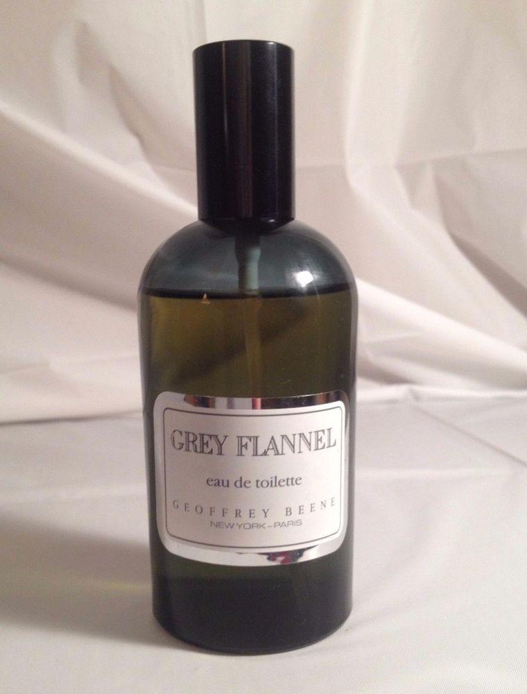 4afe288296e9 Grey Flannel Cologne Men Geoffrey Beene 4 oz Green Bottle Eau De Toilette  Spray  GeoffreyBeene