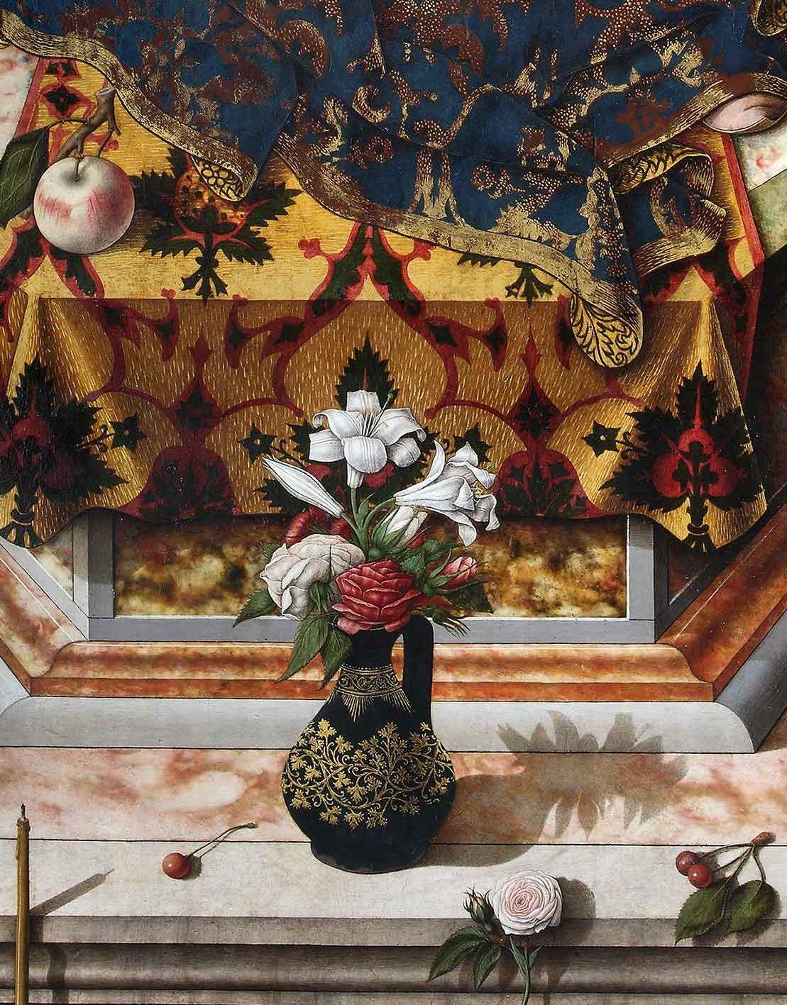 6 Fiori Tarocchi Gabriella.Madonna By Carlo Crivelli Fiori