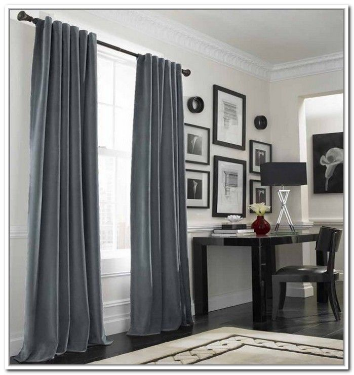 grey interlined curtains - Google Search