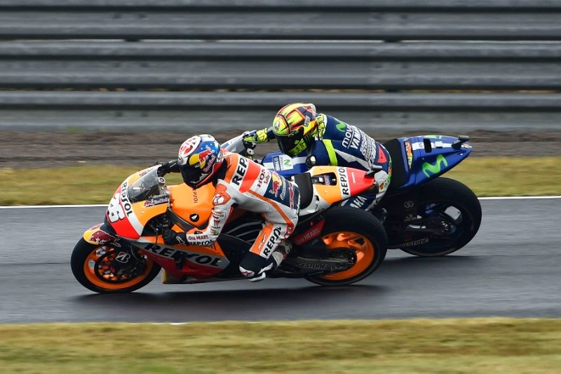 Pedrosa, Rossi, Japanese MotoGP Race 2015
