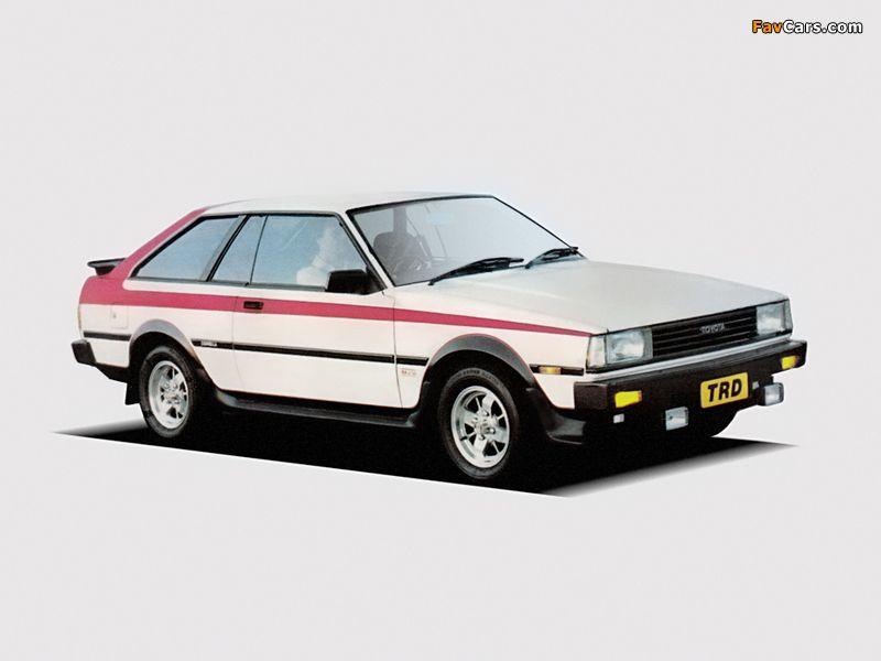 Toyota Corolla 1800 Trd Liftback Te73 1983 Photos 800x600 Toyota Corolla Toyota Corolla Hatchback Toyota