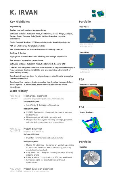 sample resume for mechanical design engineer mechanical engineer resume samples visualcv resume samples database - Design Engineer Resume Example